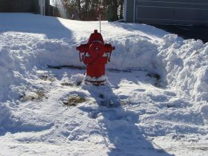 Shovel out Fire Hydrants