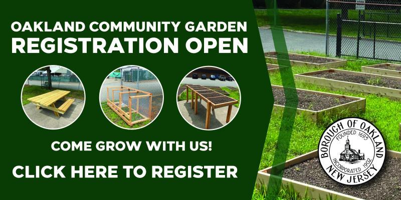 Community Garden Registrations