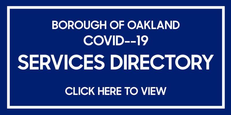 covid--19 services directory