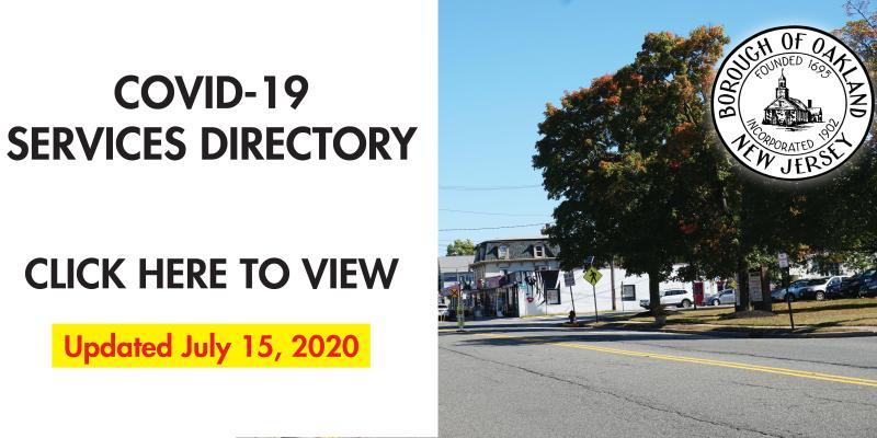 COVID-19 Services Directory