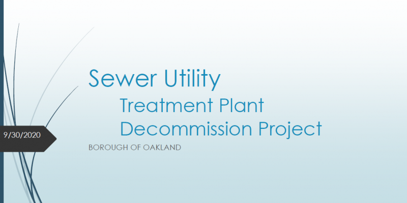 Sewer Decommissioning